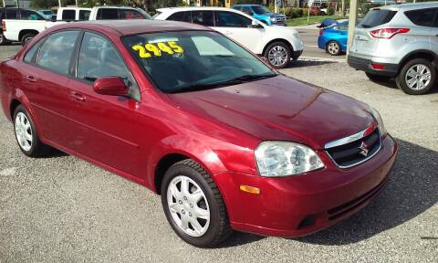 2008 Suzuki Forenza for sale at Pinellas Auto Brokers in Saint Petersburg FL