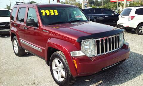 2008 Jeep Liberty for sale at Pinellas Auto Brokers in Saint Petersburg FL