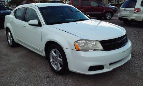 2012 Dodge Avenger for sale at Pinellas Auto Brokers in Saint Petersburg FL