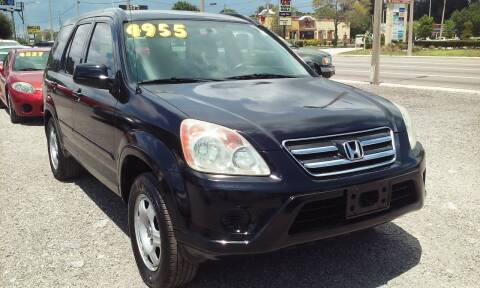 2006 Honda CR-V for sale at Pinellas Auto Brokers in Saint Petersburg FL