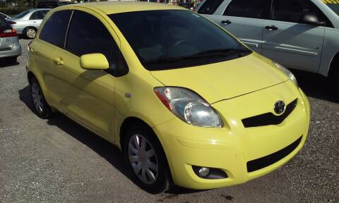 2009 Toyota Yaris for sale at Pinellas Auto Brokers in Saint Petersburg FL