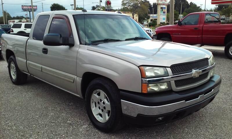 2005 Chevrolet Silverado 1500 for sale at Pinellas Auto Brokers in Saint Petersburg FL