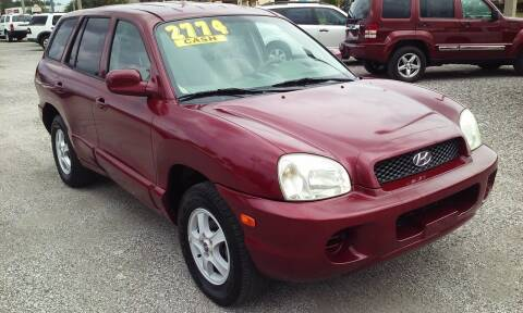 2004 Hyundai Santa Fe for sale at Pinellas Auto Brokers in Saint Petersburg FL