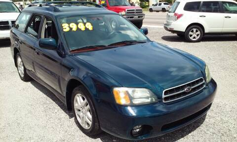 2002 Subaru Outback for sale at Pinellas Auto Brokers in Saint Petersburg FL