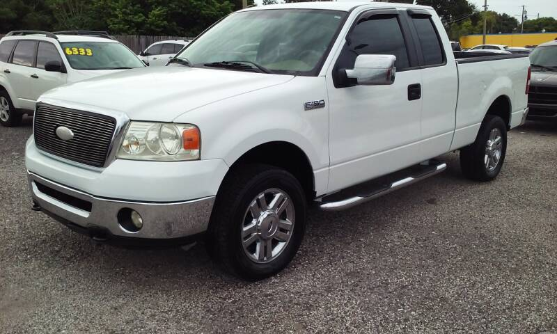 2007 Ford F-150 for sale at Pinellas Auto Brokers in Saint Petersburg FL