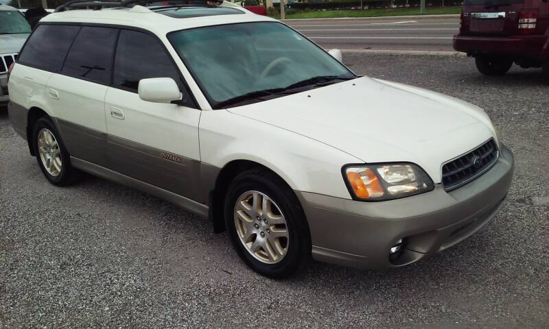 2003 Subaru Outback for sale at Pinellas Auto Brokers in Saint Petersburg FL