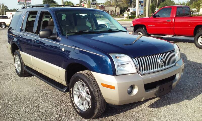 2004 Mercury Mountaineer for sale at Pinellas Auto Brokers in Saint Petersburg FL