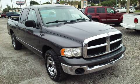 2004 Dodge Ram Pickup 1500 for sale at Pinellas Auto Brokers in Saint Petersburg FL