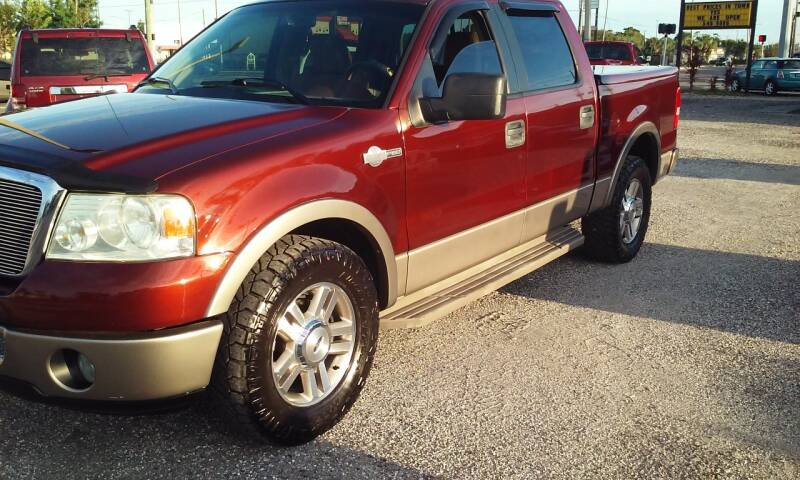 2006 Ford F-150 for sale at Pinellas Auto Brokers in Saint Petersburg FL
