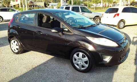 2013 Ford Fiesta for sale at Pinellas Auto Brokers in Saint Petersburg FL