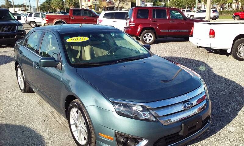 2012 Ford Fusion for sale at Pinellas Auto Brokers in Saint Petersburg FL