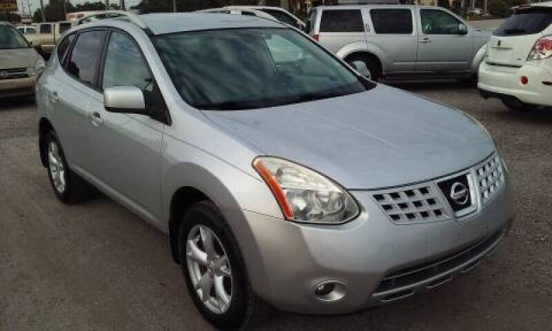 2008 Nissan Rogue for sale at Pinellas Auto Brokers in Saint Petersburg FL