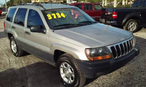 2000 Jeep Grand Cherokee for sale at Pinellas Auto Brokers in Saint Petersburg FL