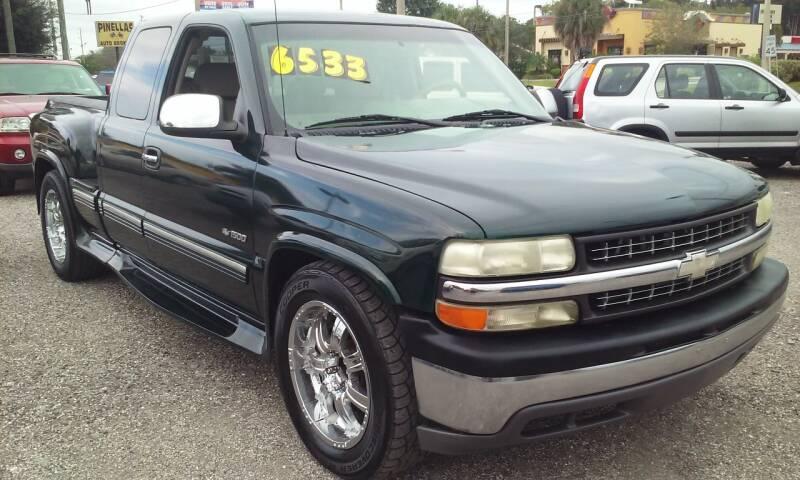 2001 Chevrolet Silverado 1500 for sale at Pinellas Auto Brokers in Saint Petersburg FL
