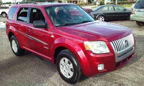 2008 Mercury Mariner for sale at Pinellas Auto Brokers in Saint Petersburg FL