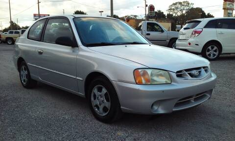 2002 Hyundai Accent for sale at Pinellas Auto Brokers in Saint Petersburg FL