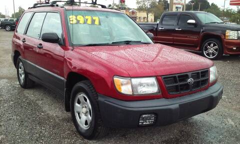 1999 Subaru Forester for sale at Pinellas Auto Brokers in Saint Petersburg FL