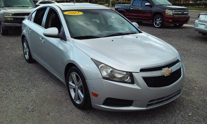2012 Chevrolet Cruze for sale at Pinellas Auto Brokers in Saint Petersburg FL