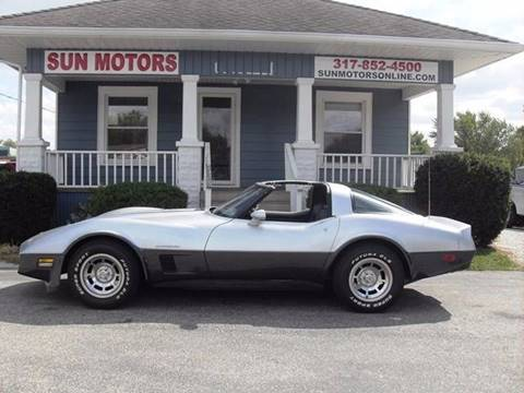 1982 Chevrolet Corvette for sale in Indianapolis, IN