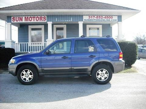 2005 Ford Escape XLT for sale at SUN MOTORS in Indianapolis IN