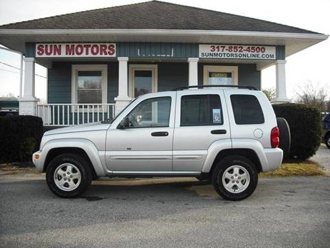 2002 Jeep Liberty Limited for sale at SUN MOTORS in Indianapolis IN