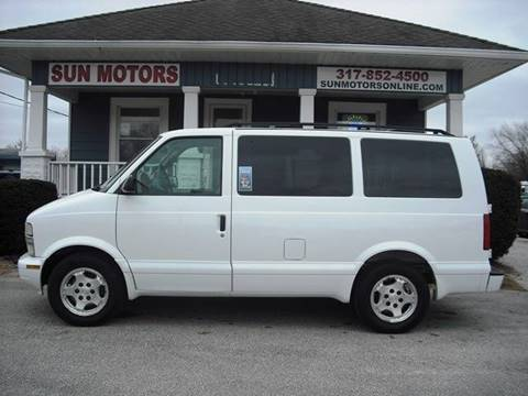 2005 Chevrolet Astro LS for sale at SUN MOTORS in Indianapolis IN