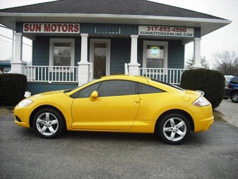 2009 Mitsubishi Eclipse GS for sale at SUN MOTORS in Indianapolis IN