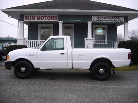 2004 Ford Ranger XL for sale at SUN MOTORS in Indianapolis IN