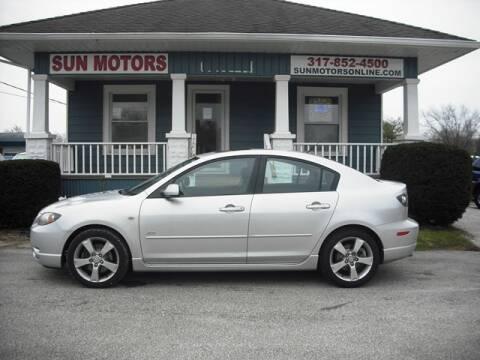 2004 Mazda MAZDA3 s for sale at SUN MOTORS in Indianapolis IN