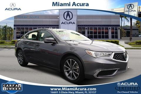 2019 Acura TLX for sale in Miami, FL