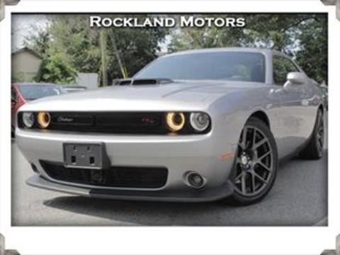 2016 Dodge Challenger for sale in West Nyack, NY