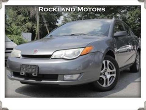 2005 Saturn Ion for sale in West Nyack, NY