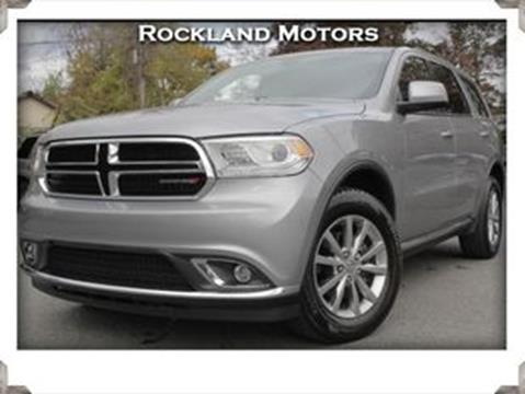 2017 Dodge Durango for sale in West Nyack, NY