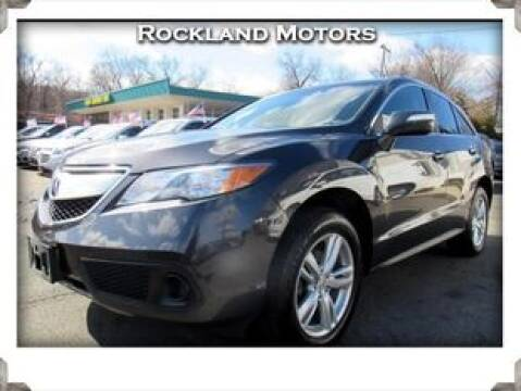 2014 Acura RDX for sale at Rockland Automall - Rockland Motors in West Nyack NY