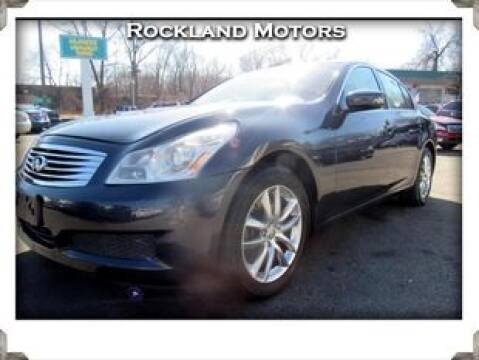 2009 Infiniti G37 Sedan x for sale at Rockland Automall - Rockland Motors in West Nyack NY