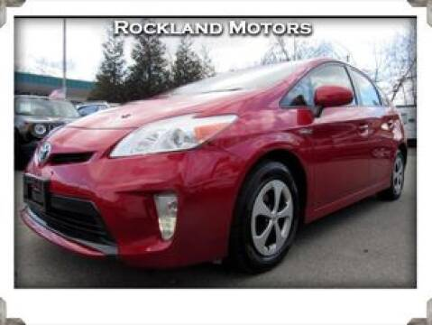 2012 Toyota Prius Five for sale at Rockland Automall - Rockland Motors in West Nyack NY