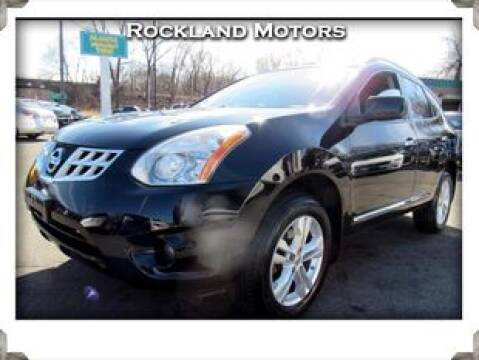 2013 Nissan Rogue SV for sale at Rockland Automall - Rockland Motors in West Nyack NY