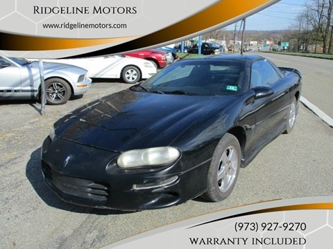 Used 2000 Chevrolet Camaro For Sale Carsforsale Com