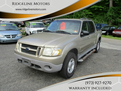 2001 Ford Explorer Sport Trac for sale in Ledgewood, NJ