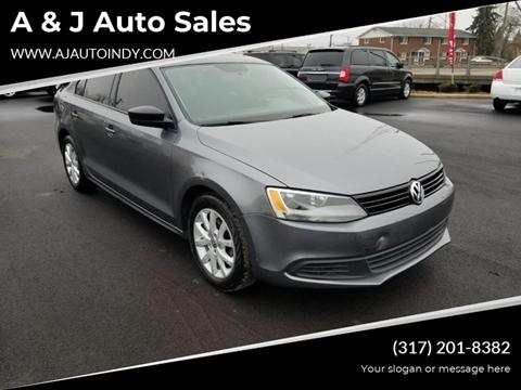 2012 Volkswagen Jetta for sale in Indianapolis, IN