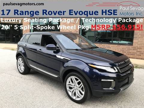 2017 Land Rover Range Rover Evoque for sale in West Chester, PA