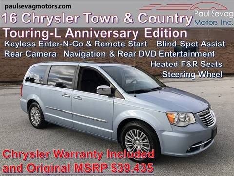 2016 Chrysler Town and Country for sale in West Chester, PA