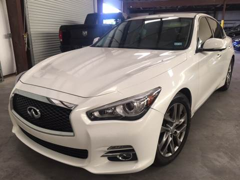 2015 Infiniti Q50 for sale in Houston, TX