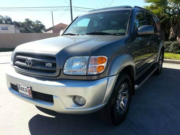 Suv Auto Sales Houston Tx: 2004 Toyota Sequoia SR5 4dr SUV In Houston TX