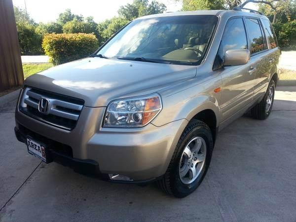 Suv Auto Sales Houston Tx: 2007 Honda Pilot EX-L 4dr SUV W/DVD In Houston TX