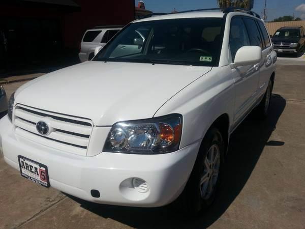 Suv Auto Sales Houston Tx: 2006 Toyota Highlander 4dr SUV W/V6 In Houston TX