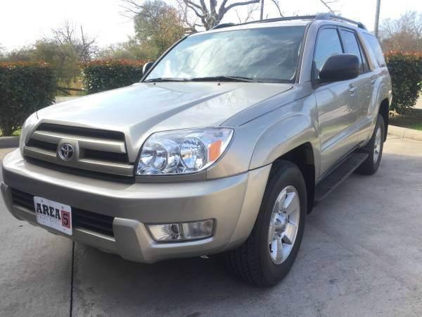 Suv Auto Sales Houston Tx: 2003 Toyota 4Runner SR5 4dr SUV In Houston TX