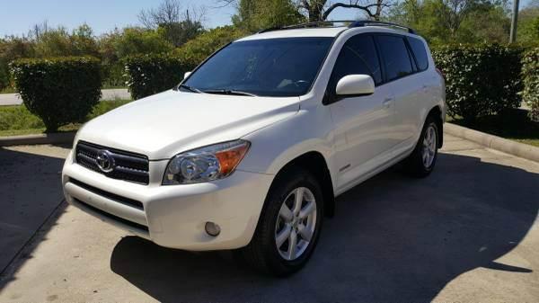 Suv Auto Sales Houston Tx: 2007 Toyota Rav4 Limited 4dr SUV I4 In Houston TX
