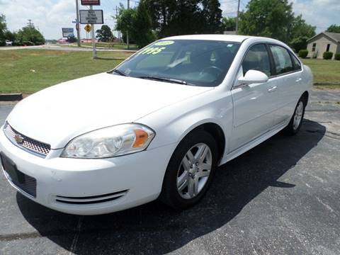 2013 Chevrolet Impala for sale at Credit Cars of NWA in Bentonville AR