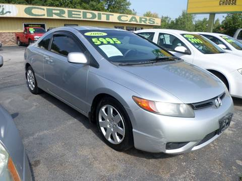 2006 Honda Civic for sale at Credit Cars of NWA in Bentonville AR